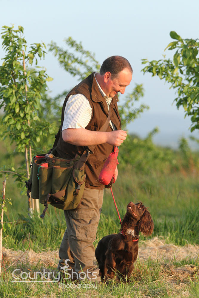 Gary Watkins Training Cocker Spaniel